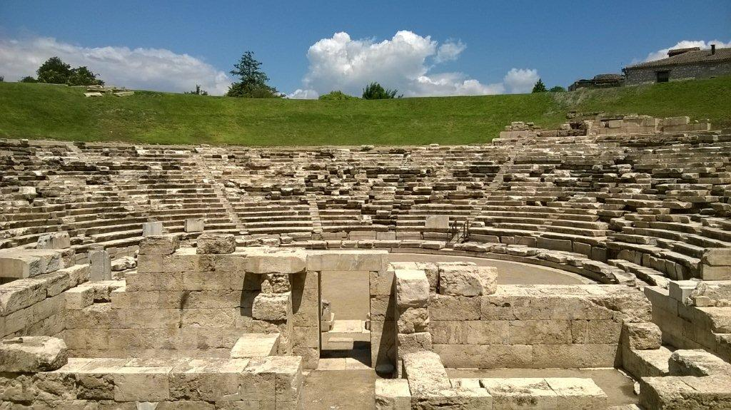 Larisa, ancient theatre